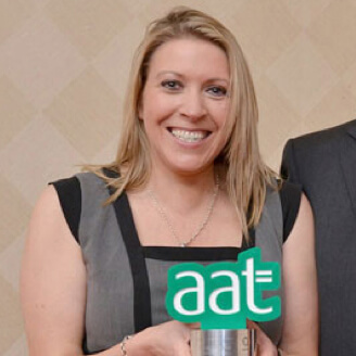 Sarah Williams, AAT student of the year